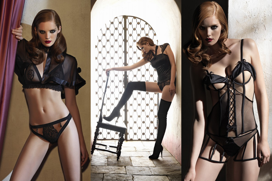 La Perla Black label Lingerie, made by  most important Italian lingerie brand La Perla - is probably the most famous one at an international level too. They have produced during the years many examples of sophisticated and historical collections of lingerie, most of them desired and worn by many of us.