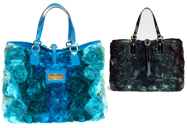 The Floral Applique Handbags by Valentino