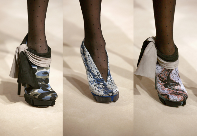 Balenciaga RTW 2009 Fall Shoes