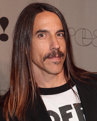 Anthony Kiedis Vegetarian
