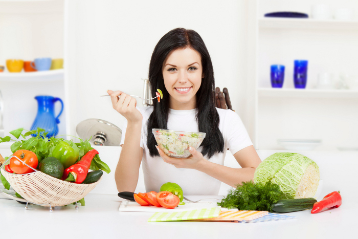 Learn how to get healthy without going on a diet! Eating healthy is not a hard thing to do, all you need to do is learn what types of food are good for you and what types of foods you should avoid.