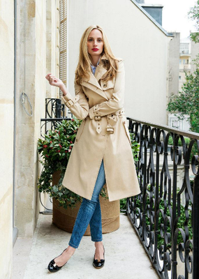 Lauren Santo Domingo Trench