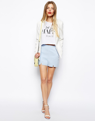 Shorts Blazer Outfit