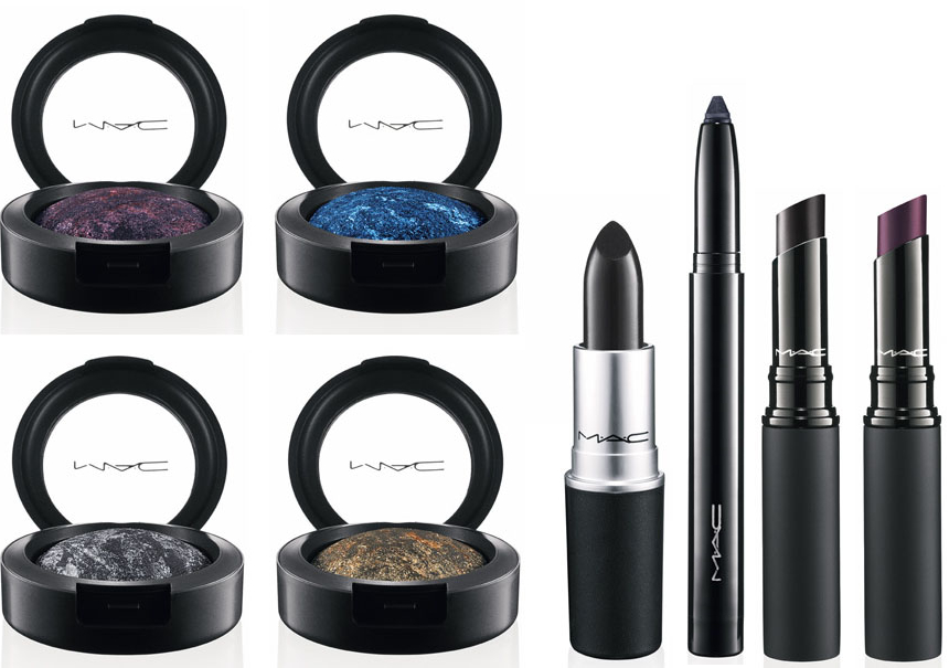 "MAC is ready for this fall with the Style Black collection, but not with the soft and tender nuances that we're all so used to when it comes to fall, but in …black, just like Amy Winehouse's song, ""Back to Black"". And I mean literally black."