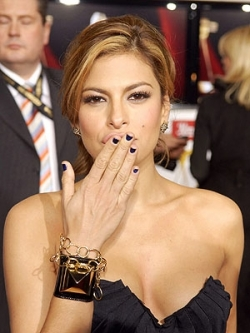 Eva Mendes Beauty Mark