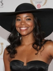 Gabrielle Union Wide-Brimmed Hat