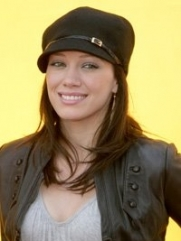 Hillary Duff Short-Brimmed Hat