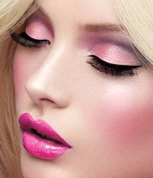 barbie doll inspired makeup