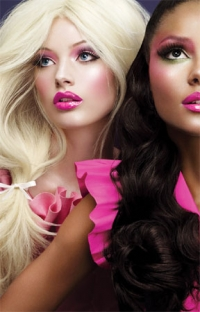 Barbie Doll Inspired Make-up