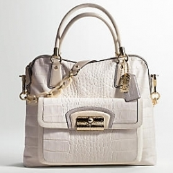 Kristin Embossed Exotics Zip Tote $1,000