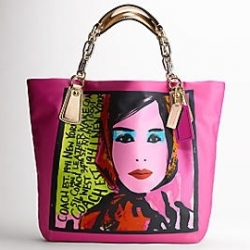 Kristin Photo Print Girl Tote $398
