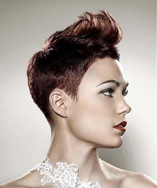 Try quiffs or swept away hairstyles as they will help you attract more