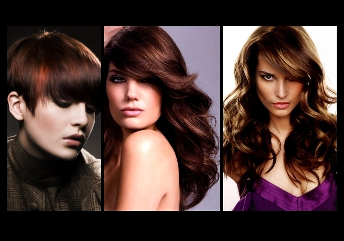 Year by year, brunette hair color remains in fashion.