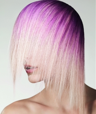 two toned hairstyles.  to obtain a visible two tone hair coloring on your gorgeous hairstyle.