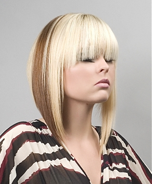 two tone hair color styles two tone hair color hairstyles 3392
