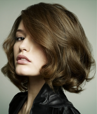 Short hair. Short hairstyles with volume help give an attractive aspect to
