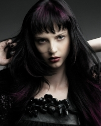 Romantic Goth Girl Hairstyles
