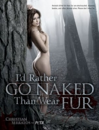 Twilight Star Christian Serratos Poses for PETA