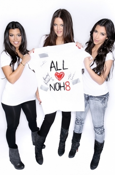 The Kardashians for NOH8 Campaign