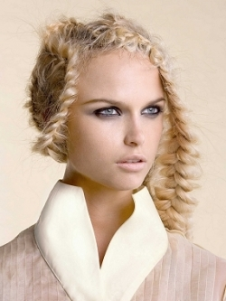 edgy braid hairstyle