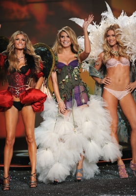 Veteran models Marisa Miller, Heidi Klum and Doutzen Kroes