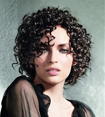 shapes look especially gorgeous with curly medium length hairstyles.