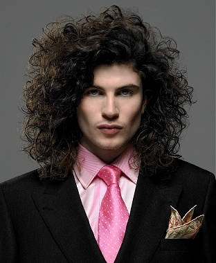 Mens Curly Hairstyles and Haircuts