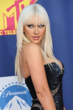 Christina Aguilera Straight hair