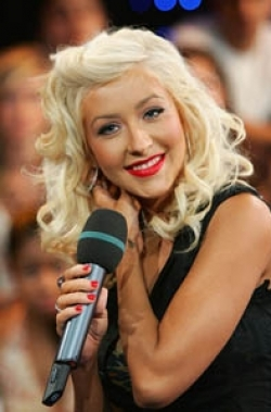 Christina Aguilera Curls