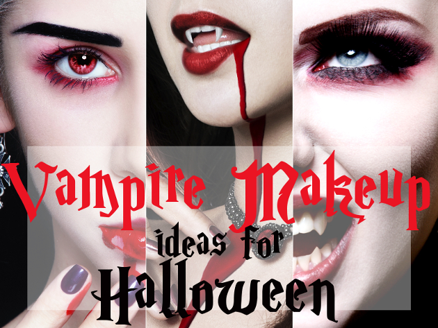 Sexy Vampire Makeup for Halloween