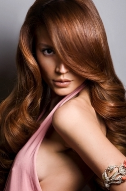 gorgeous hair color