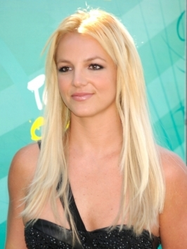 Britney Spears Natural Hair Type