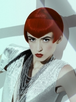 Betty Page inspired hairstyle