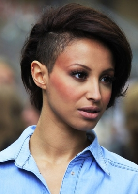 Half Shaved Head Hairstyles