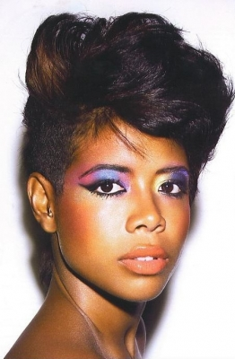 One Side Shaved Hairstyles for Black Women