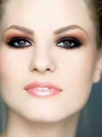 Makeup Trend - Copper Eye Makeup