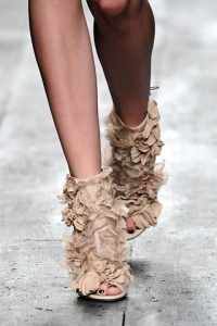 Spring 2010 Shoe Trend - Peep Toe Boots