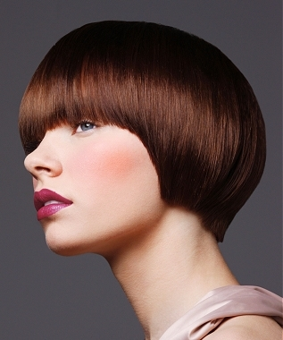 Dry/damaged hair will not allow the hair to fall in place as elegantly as
