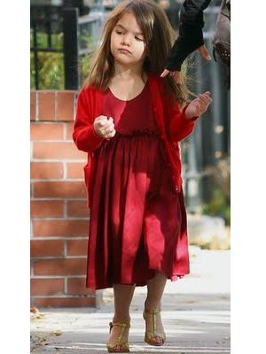 suri cruise in heels. Suri Cruise Loves High Heels