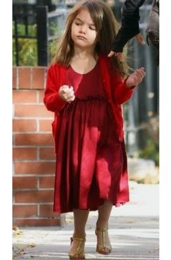 Suri Cruise golden heels
