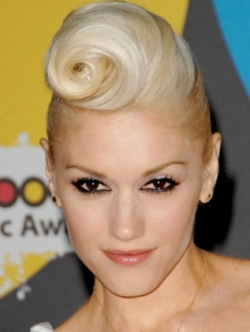 Gwen Stefani Rockabilly Hairstyle
