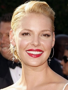 Katherine Heigl Red Lips