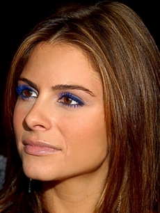 Maria Menounos Colored Mascara