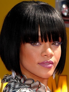 Rihanna Colored Mascara