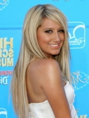 Ashley Tisdale Blonde Hair