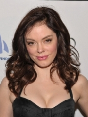 Rose McGowan Brown Hair