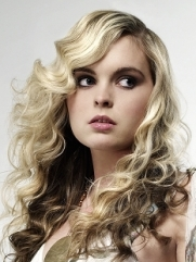 Curly Hair Highlights