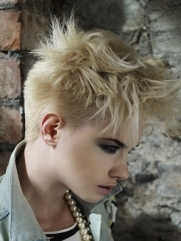 Spiked Bangs