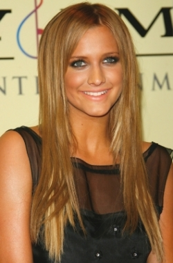 ashlee simpson dirty blonde hair