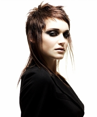 female mullet hairstyles. hairstyle or a hairstyle which enhances any facial